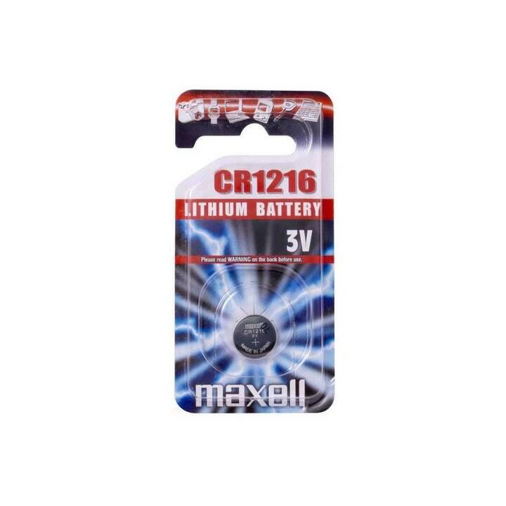 MAXELL Batterie (CR1216, 1 pièce)