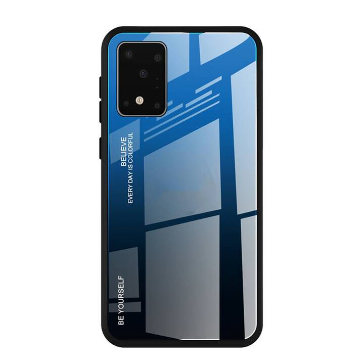 "EG Mornrise backcover per Samsung Galaxy S20 6.2"" 2020 - blu nero"