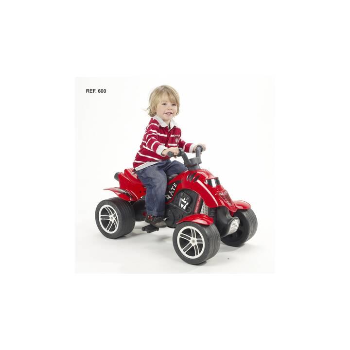 FALK Tret- und Rutschfahrzeug Quad Pirate (Rot, Schwarz)