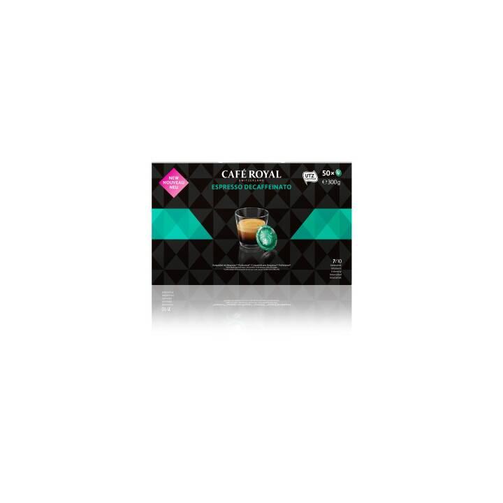 CAFÉ ROYAL Kaffeepads Espresso Decaffeinato (50 Stück)
