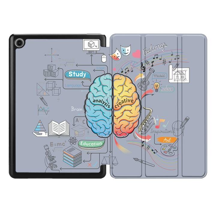 """EG MTT Coque pour HUAWEI MediaPad T3 10 9.6"""" 2017 - cerveau"""