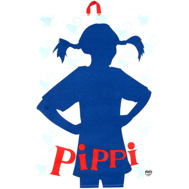 PLUTO Geschirrtuch Pippi Langstrumpf Basta (50 cm x 70 cm)