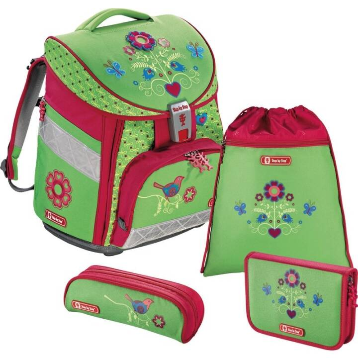 STEP BY STEP Set di borse Comfort Country Flower (21 l, Verde)
