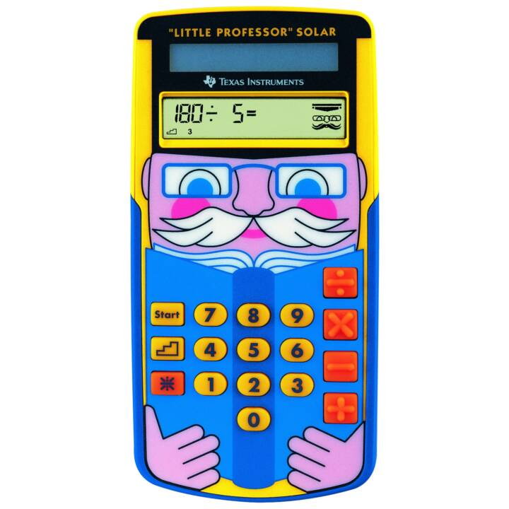TEXAS INSTRUMENTS TI-LITTLE Professor (Cellules solaires)