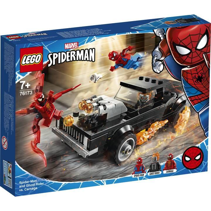 LEGO Marvel Super Heroes Spider-Man e Ghost Rider vs. Carnage (76173)