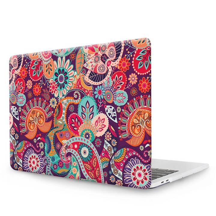 """EG MTT Copertina per computer portatile con tastiera, protezione antipolvere, penna a sfera per MacBook 12"""" Retina - Etnica"""
