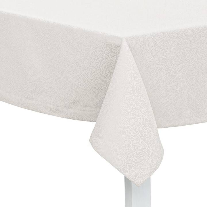 PICHLER Nappe Beverly (150 cm x 200 cm, Rectangulaire, Blanc)