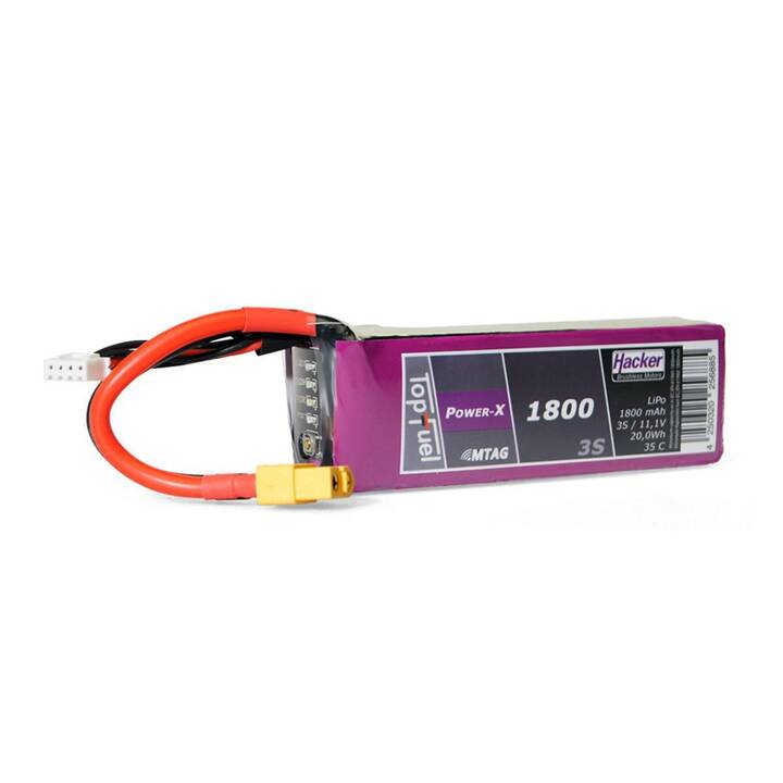 HACKER Accus Topfuel Power-X (LiPo, 1800 mAh, 11.1 V)