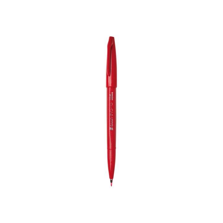 PENTEL Brush Sign Pen, 1 mm, Rot