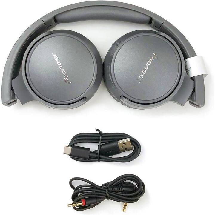 PIONEER SE-S6BN-H (On-Ear, Bluetooth 5.0, Gris)