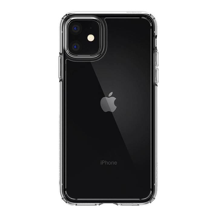 SPIGEN Backcover Ultra Hybrid (iPhone 11, Transparent)