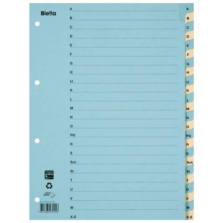 BIELLA Register A4 A - Z Karton