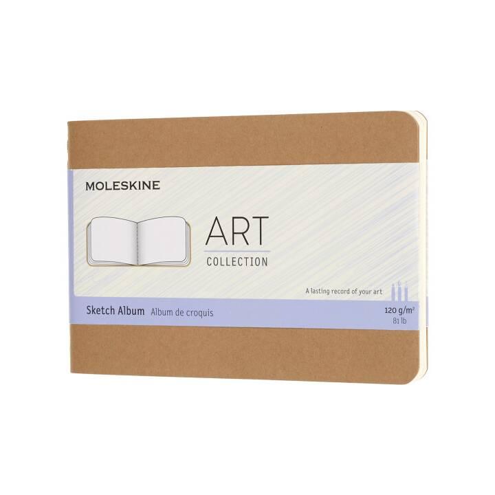 MOLESKINE Notizblock Art Collection (A6, Blanko)