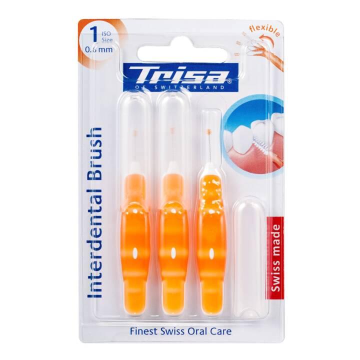 TRISA Brosse interdentaire  ISO1 0.8 mm (Souple)