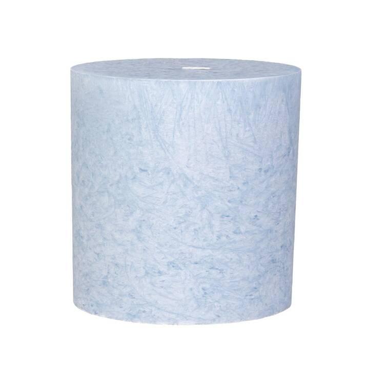 HERZOG Kristallo Bougie cylindrique (Bleu clair, 1 pièce)