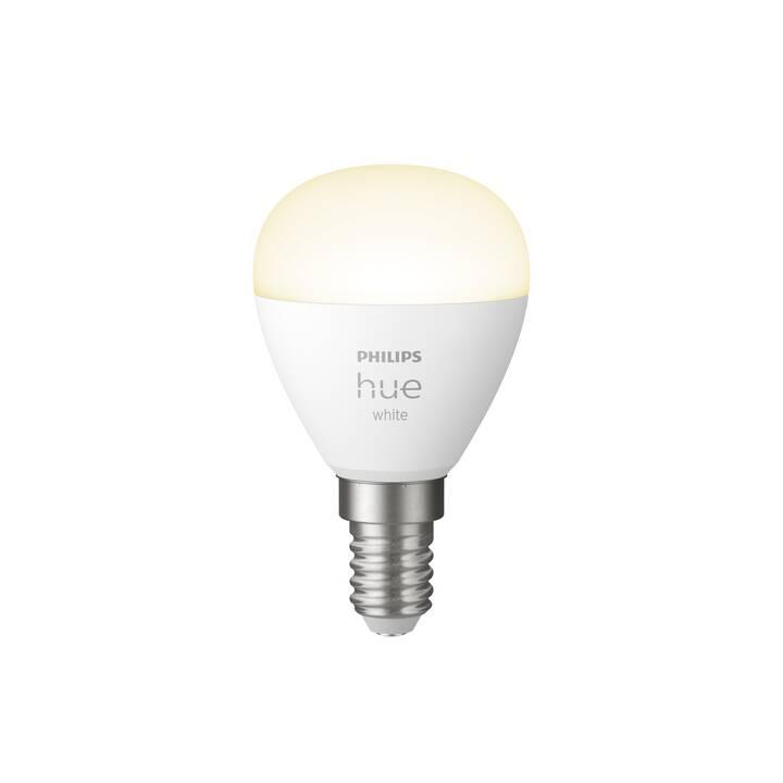 PHILIPS HUE Lampadina LED White BT (E14, Bluetooth, 5.7 W)