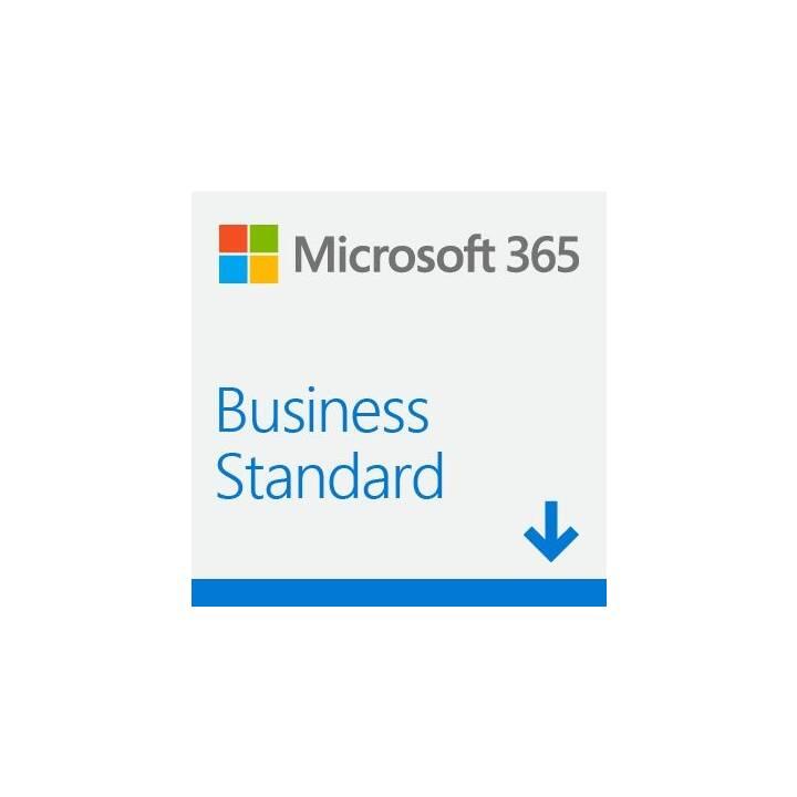 MICROSOFT 365 Business Standard (Abbonamento, 1x, 1 anno, Italiano)