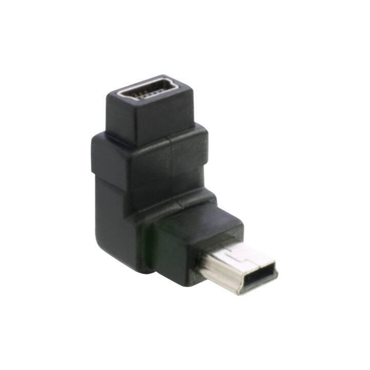 DELOCK Adapter (Mini USB 2.0 Typ-B, Mini USB 2.0 Typ-B)
