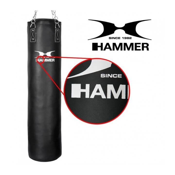 HAMMER Boxsack Premium Black Kick (180 cm, 50 kg)