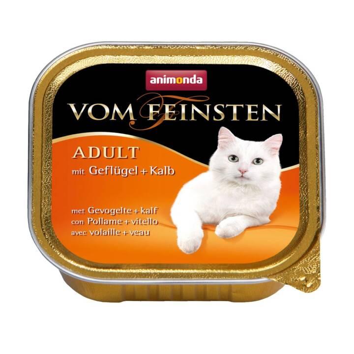 ANIMONDA Vom Feinsten (Adulte, 100 g, Veau, Volaille)