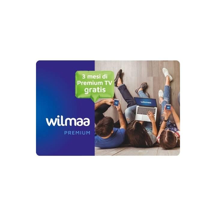 WILMAA Gutscheinkarte für Wilmaa TV IT