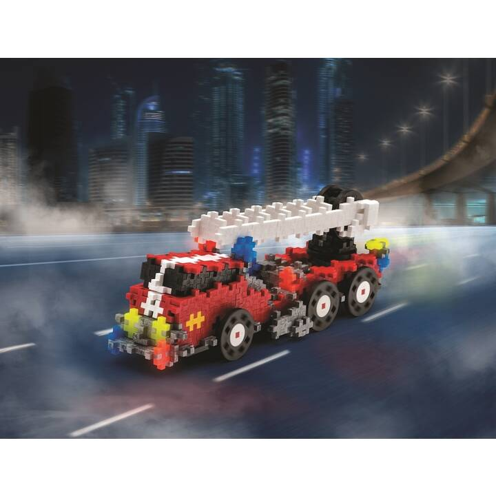 PLUS-PLUS Go! Fire and Rescue (500 x)