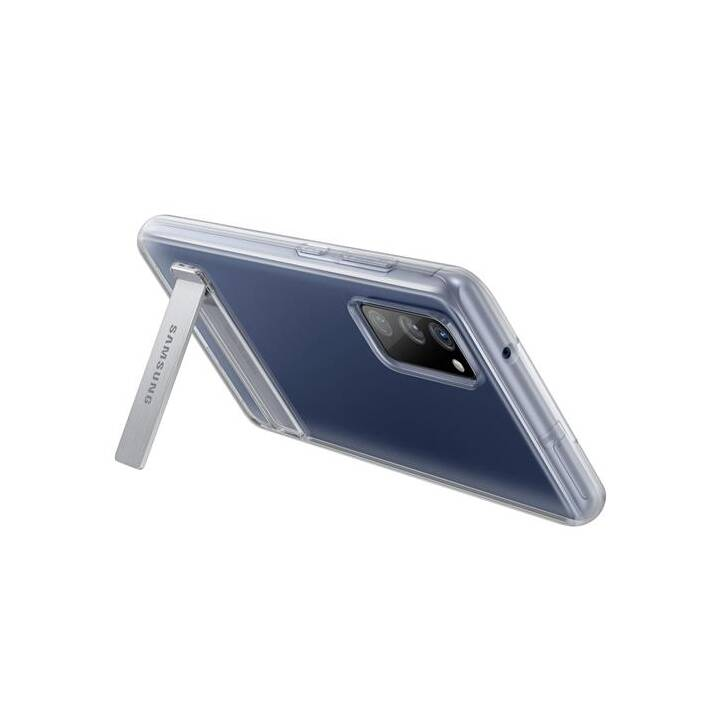 SAMSUNG Hardcase Clear Standing (Galaxy S20 FE, Transparente)