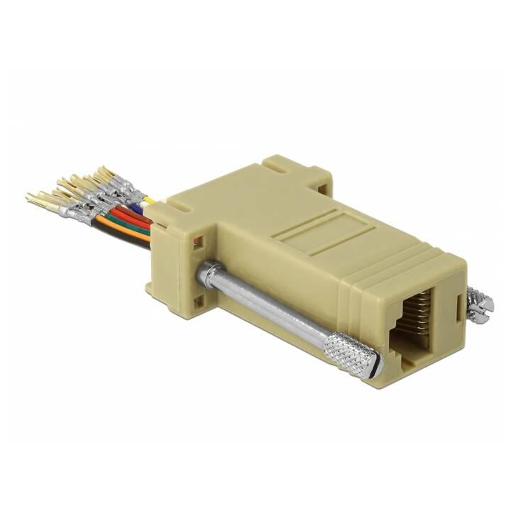 DELOCK Adapter (RS-232, RJ-45)