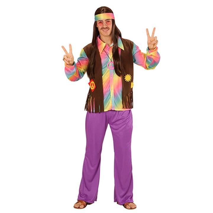 FASNACHT Hippie Mann Gr. L Costumes pour adultes