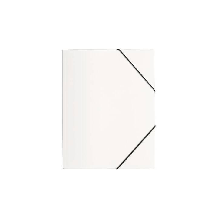 PAGNA chemise à élastique A4 blanc