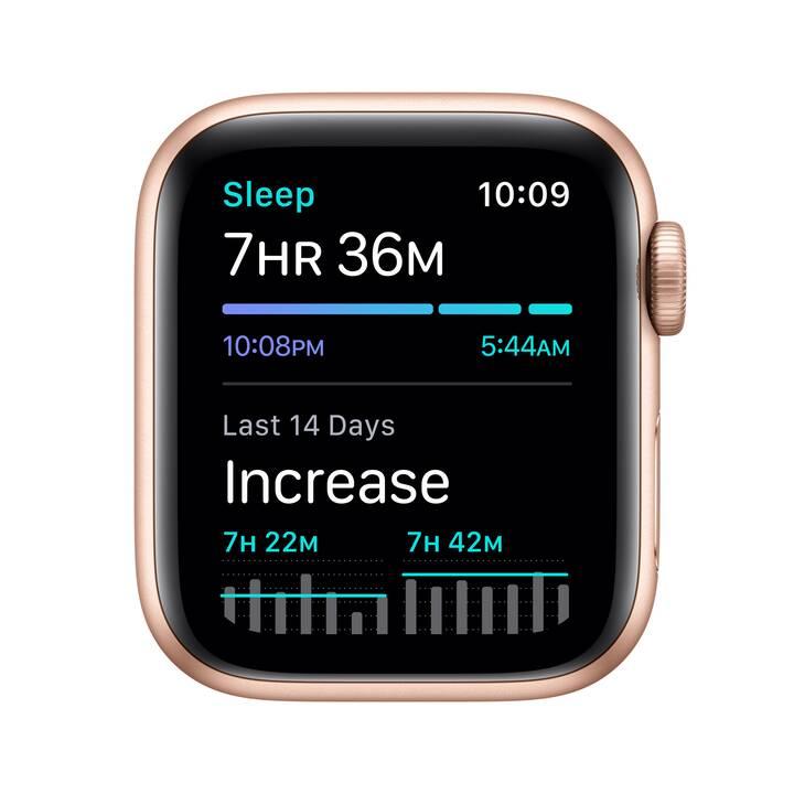 APPLE Watch SE GPS (40 mm, Alluminio, Silicone)