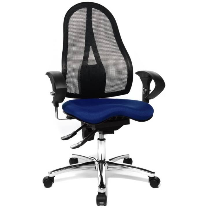 TOPSTAR Sitness 15 Chaise opérateur (Bleu)