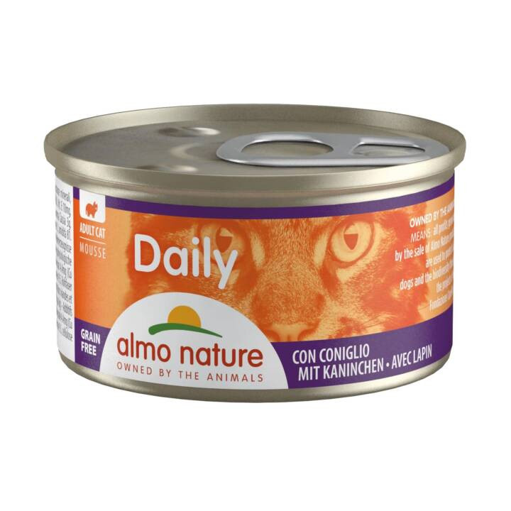 ALMO NATURE Daily (Adulte, 85 g, Lapin)