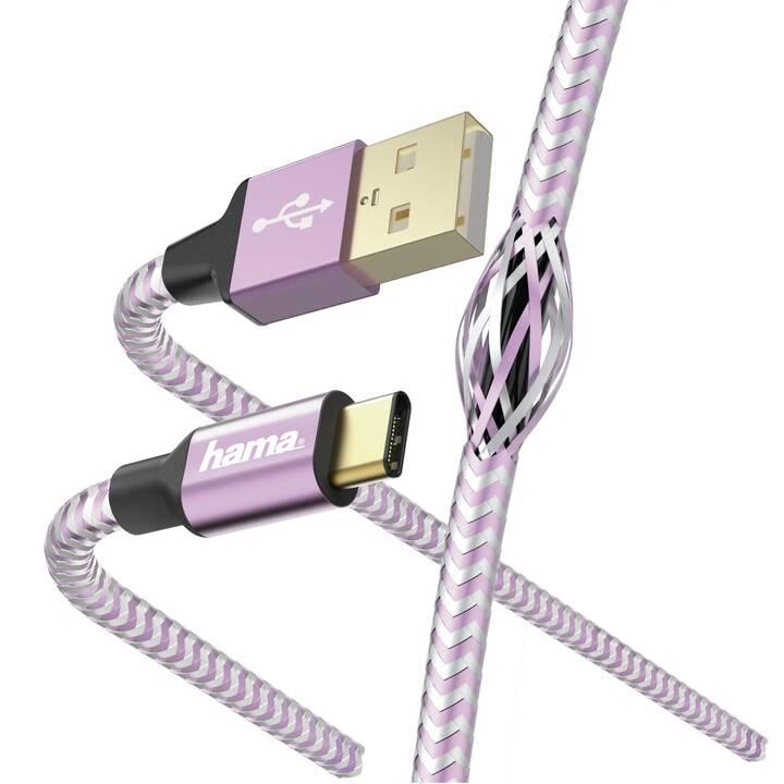 HAMA Cavo USB (USB 2.0 Tipo-C, USB 2.0 Tipo-A, 1.5 m)