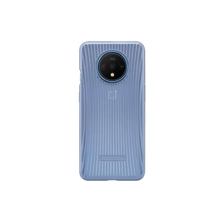 ONEPLUS Backcover Cushion Bumper Case (OnePlus 7T, Blau)