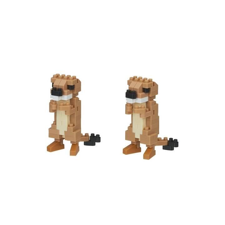 NANOBLOCK Prairie Dogs (160 pièce)