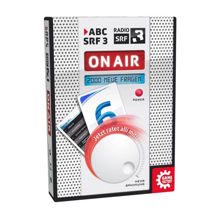 GAME FACTORY jeu de fête ABC SRF 3 On Air