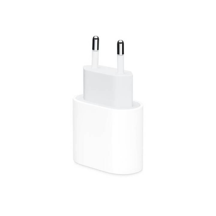 APPLE USB-C Power Adapter Caricabatteria da parete (20 W, USB-C)