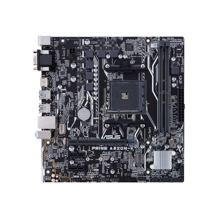 ASUS Prime A320M-K/CSM (AM4, AMD A320, Micro ATX)