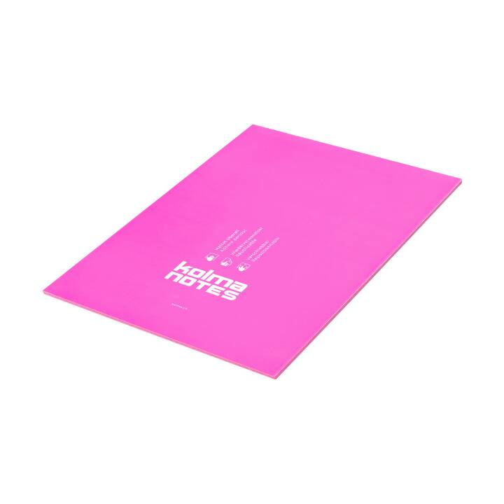 KOLMA Haftnotizen (210 mm x 297 mm, Pink)
