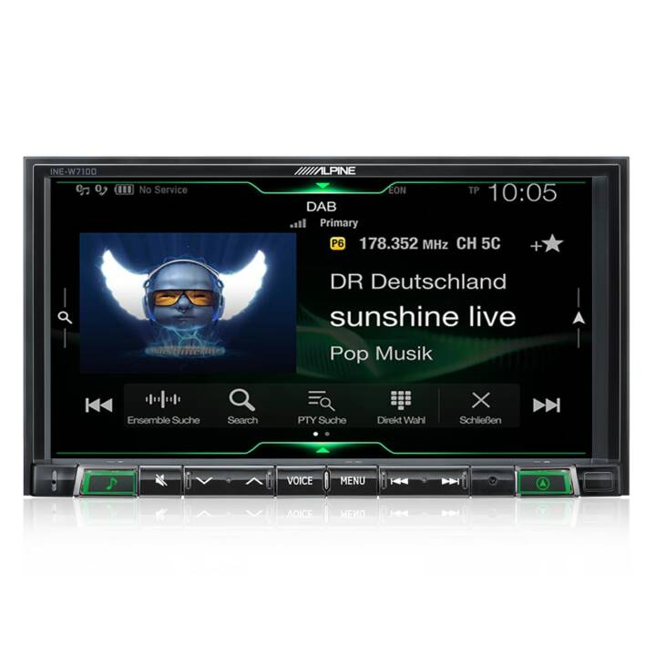 ALPINE Mobile Media Station ILX-702D 2 DIN