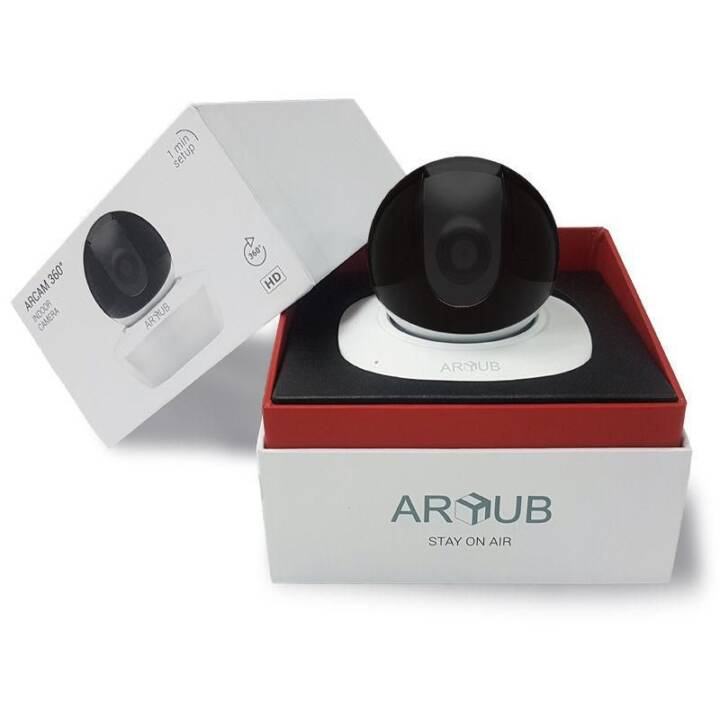 ARHUB Netzwerkkamera Arcam 360° White