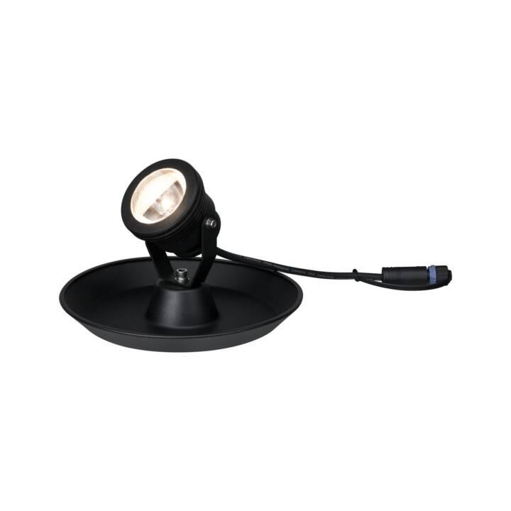 PAULMANN 942.09 Faretti per esterni (LED incorporato, 4 W, Nero)