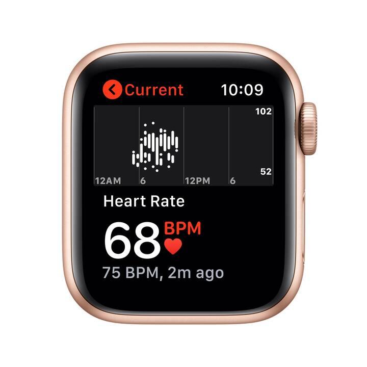 APPLE Watch SE GPS (40 mm, Aluminium, Silikon)