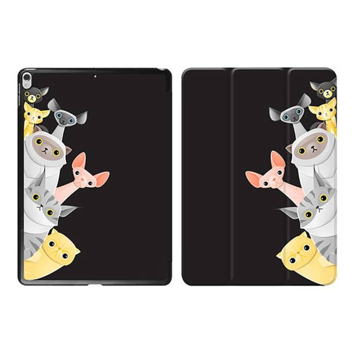 "EG iPad Sleeve pour Apple iPad Pro 10.5"" 10.5"" 10.5"" - chats noirs de dessin animé"