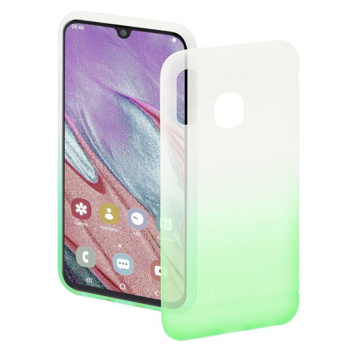 HAMA Backcover Colorful (Galaxy A40, Transparente, Verde)