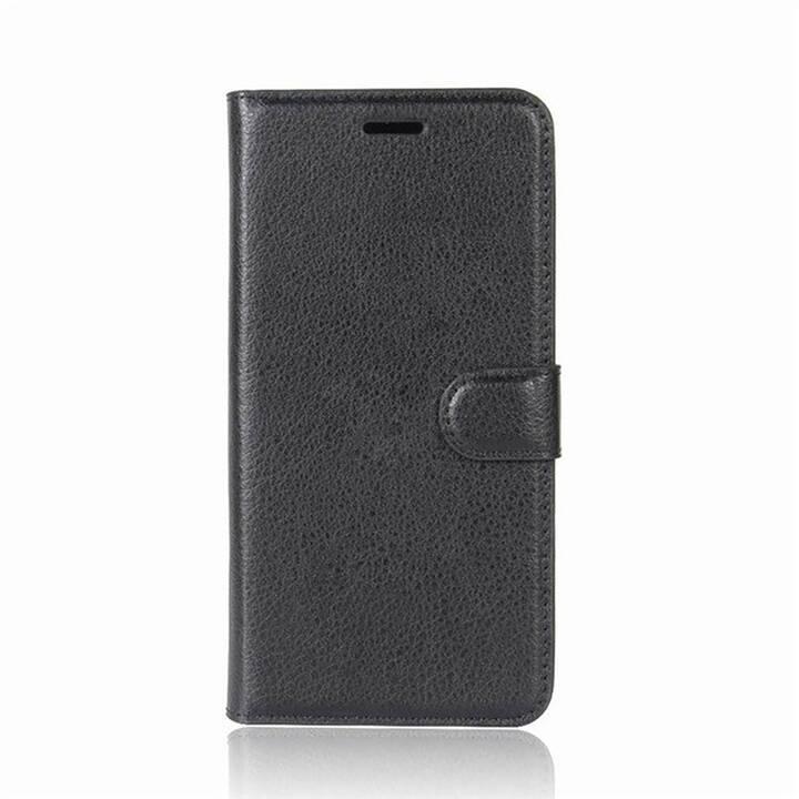 EG Mornrise Custodia a Portafoglio per Samsung Galaxy A7 2018 - Nera