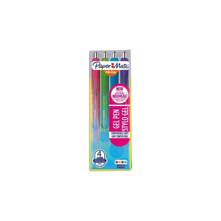 Penna a sfera retrattile PAPER MATE InkJoy, 0,7 mm, 4 colori