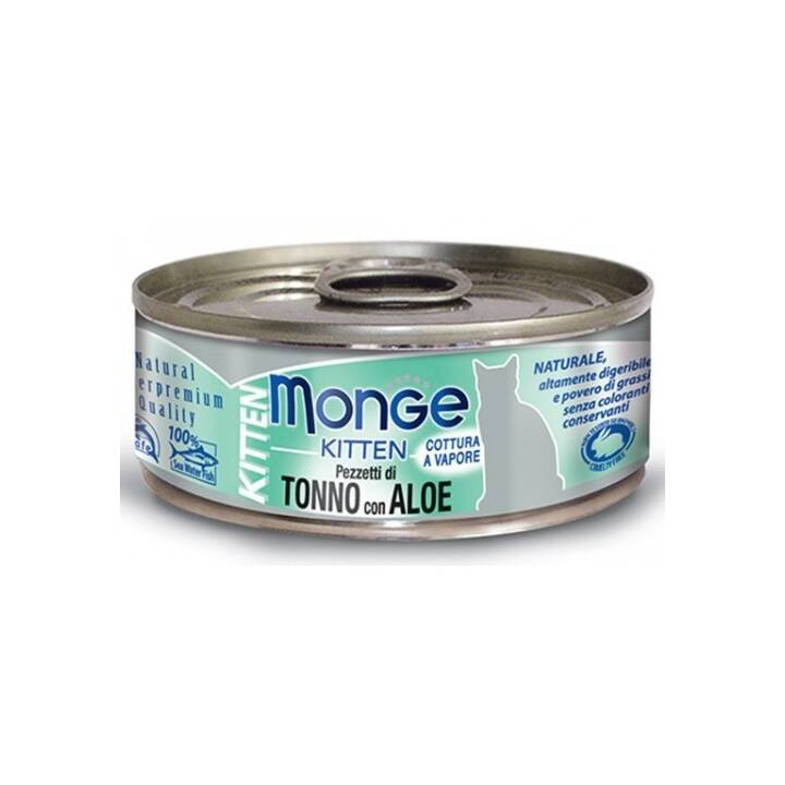 MONGE Jelly Cat (Junior, 80 g, Tonno)