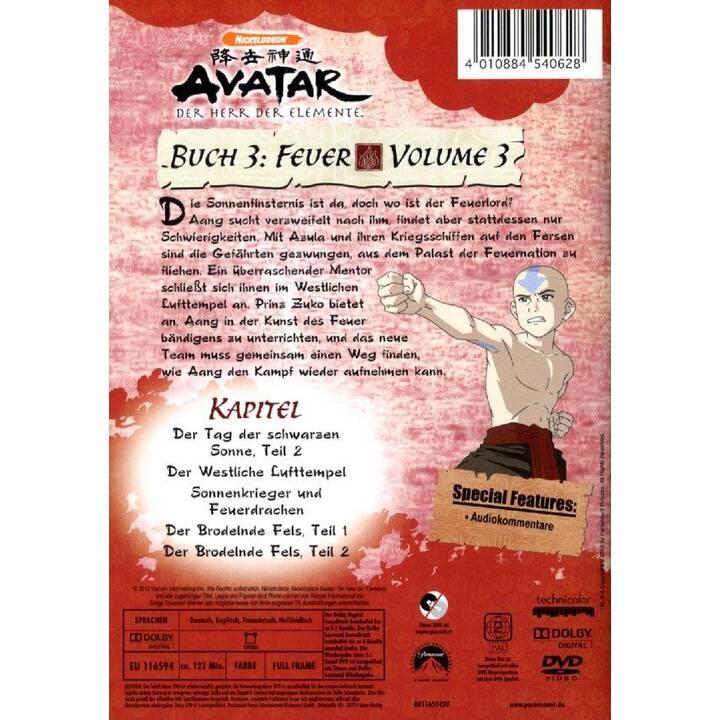 Avatar - Der Herr der Elemente - Buch 3: Feuer - Vol. 3 (DE, NL, FR, EN)